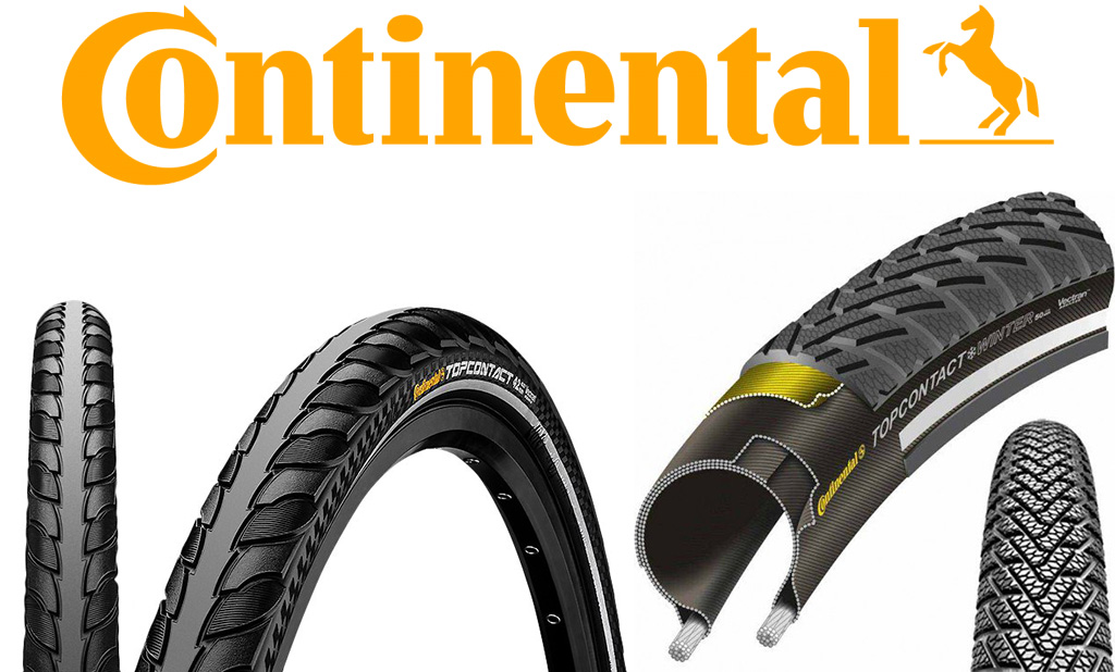 Велосипедная покрышка Continental Top CONTACT Winter II Premium