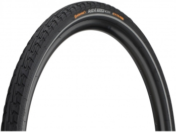 Покрышка Continental RIDE Tour 28 x 1.75, 47-622, чёр./чёр., 3/87TPI, ExtraPuncture Belt