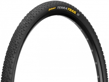 Покрышка Continental Terra Trail, 28 x 1,5, 40-622, чёр./чёр. складная, 3/180TPI, BlackChili, ProTection, E25, TL