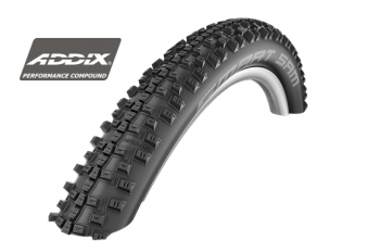 Покрышка Schwalbe 27.5x2.10 (54-584) SMART SAM ADDIX PERF RIG