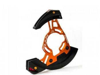 Успокоитель цепи Funn Zippa DH Single Chainring ISCG05/External BB 32T-38T, Цвет: Orange/Black, 2014г.
