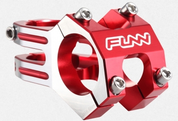 "Вынос 31.8mm 1-1/8"" Funn FunnDuro 45mm 0° Red / Polished"