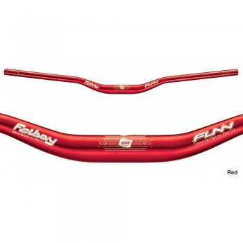 Руль riser Funn FatBoy DH 785mm 30mm 31.8mm Red