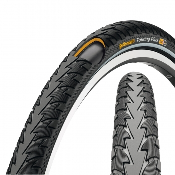 Continental touring plus, 700 x 42c, (42-622), с отраж.полосой