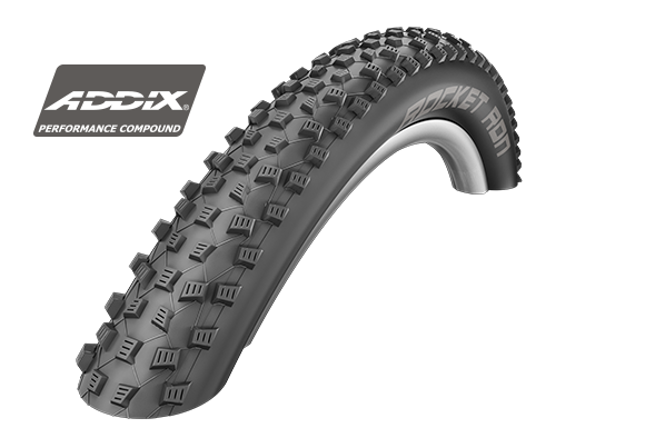 Покрышка Schwalbe 27.5x2.25 (57-584) ROCKET RON ADDIX PERFORMANCE TLR FOLDING HS438