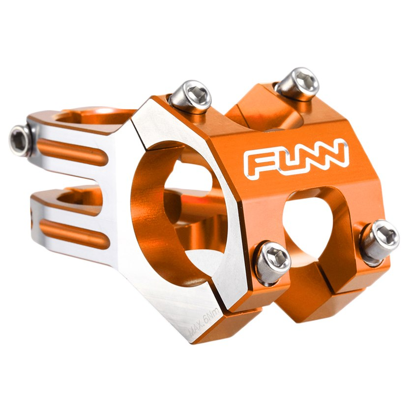 "Вынос 31.8mm 1-1/8"" funn funnduro 45mm 0° orange / polished"